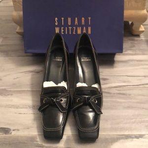 Stuart Weitzman Shoes Black Calf Size 9